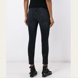 Current/Elliott Stiletto Watchtower Eyelet Skinny